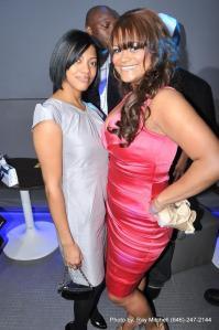 Christina Mendez on right