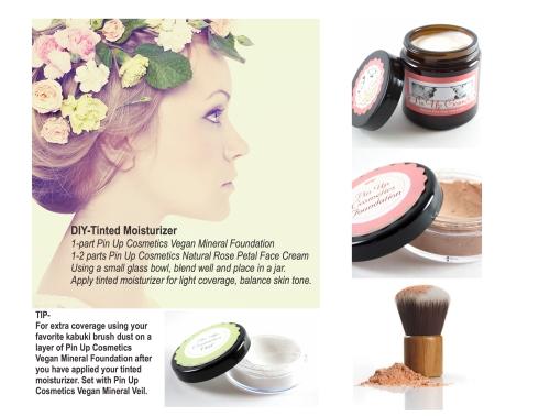 DIY Pin Up Cosmetics